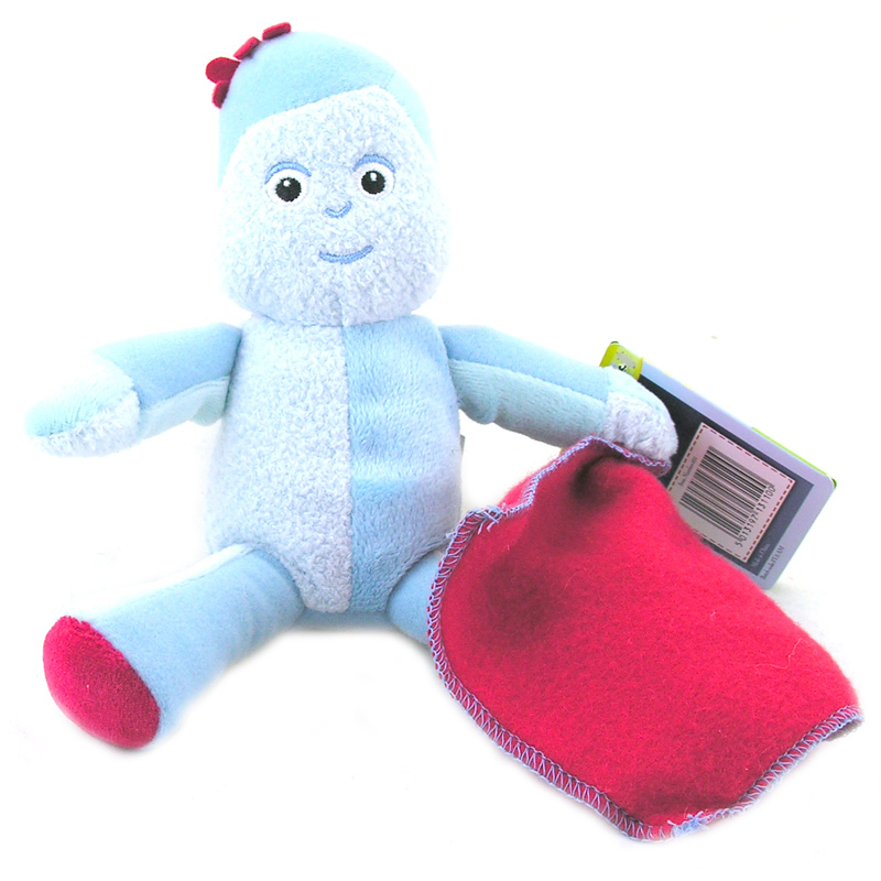 In The Night Garden Mini Soft Toy - Iggle Piggle image