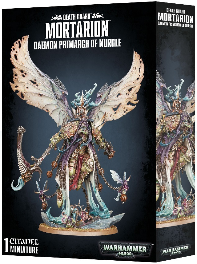 Warhammer 40,000: Mortarion Daemon Primarch of Nurgle image