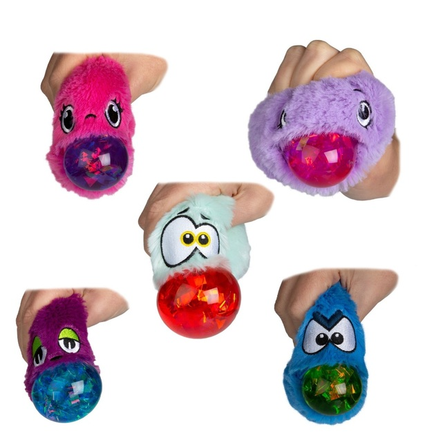 Odditeez: Plopz - Slime Filled Plush (Assorted Designs)
