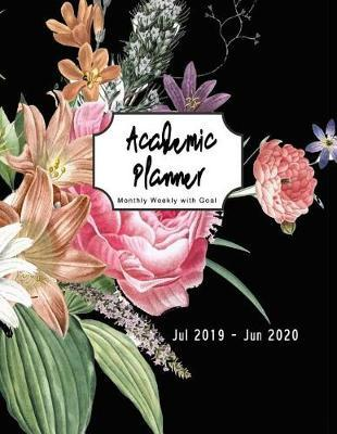 Academic Monthly planner with goal by Chic Cool