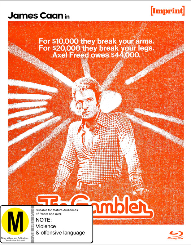 The Gambler (Imprint Collection #49) on Blu-ray