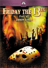 Friday The 13th Part 6 - Jason Lives on DVD