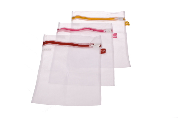 Washing Bag with Label Tags - Set of 3