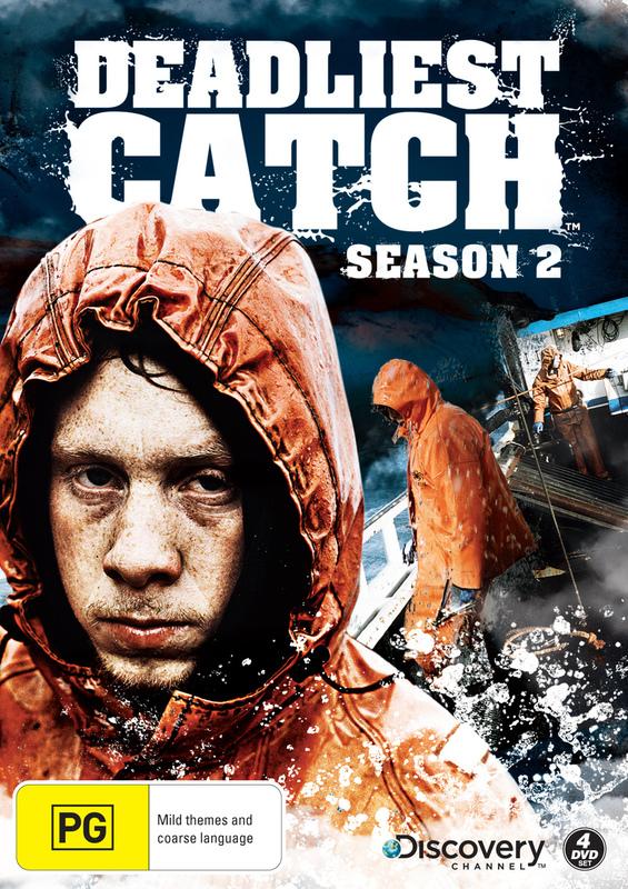 Deadliest Catch - Season 2 on DVD