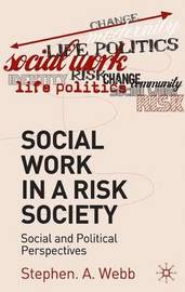 Social Work in a Risk Society by Stephen A Webb image