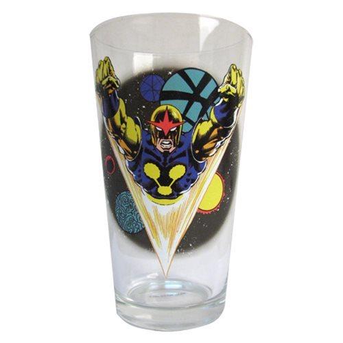 Marvel Toon Tumbler Pint Glass (Nova)