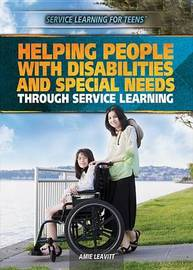 Helping People with Disabilities and Special Needs Through Service Learning by Amie Jane Leavitt image