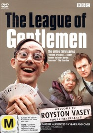 The League Of Gentlemen - Series 3 (2 Disc Set) on DVD image