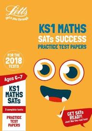 KS1 Maths SATs Practice Test Papers by Letts KS1 image