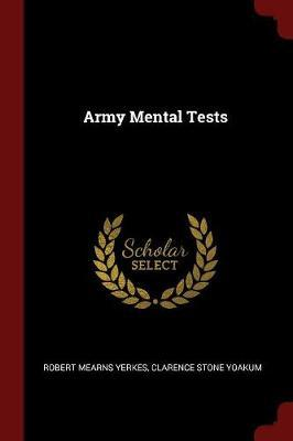Army Mental Tests by Robert Mearns Yerkes image