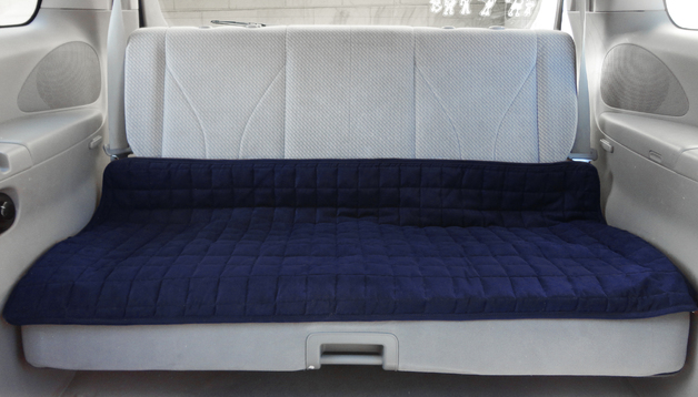 Brolly Sheets Waterproof Couch and Car Seat Cover (Navy)