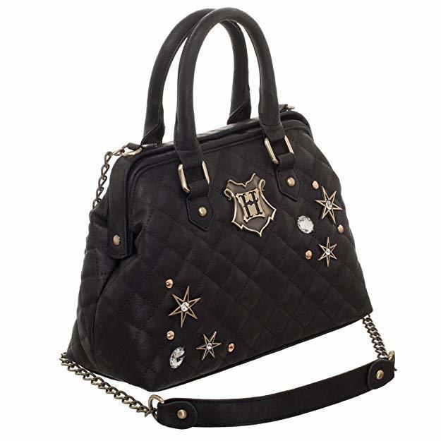 Harry Potter Back to Hogwarts Quilted Embellished Handbag image