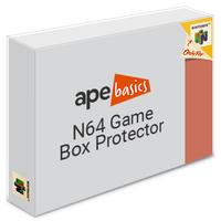 Ape Basics: N64 Game Box Protector - 10-Pack