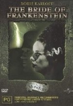 Bride Of Frankenstein The on DVD