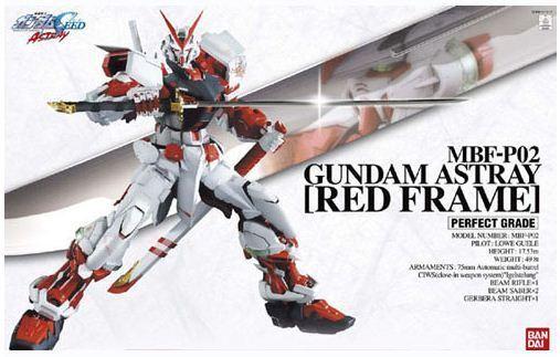 PG 1/60 Gundam Astray Red Frame - Model Kit