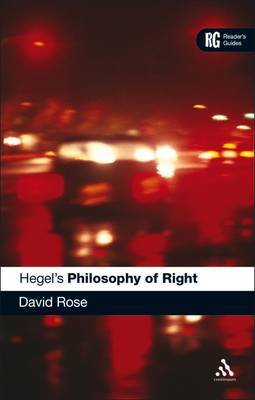 "Hegel's ""Philosophy of Right"" by David Rose image"