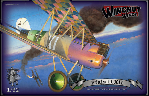 Wingnut Wings 1/32 Pfalz D.XII Model Kit