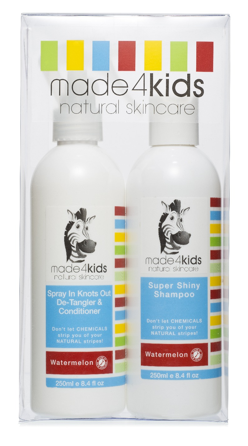 Made4Kids - Mini Gift Pack - Face Wash & Bubble Bath image