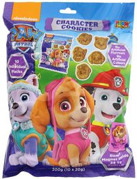 Paw Patrol Park Avenue Character Cookies (200g)