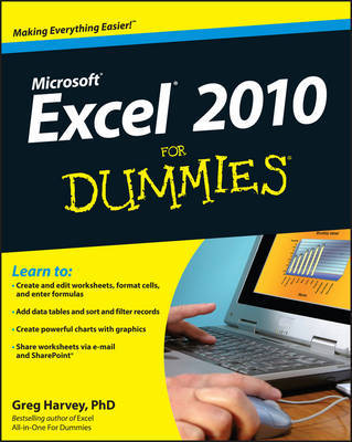 Excel 2010 For Dummies by Greg Harvey image