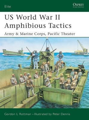 US Amphibious Tactics, Pacific 1942-45 by Gordon L. Rottman image