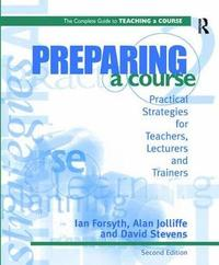 Preparing a Course by Ian Forsyth image