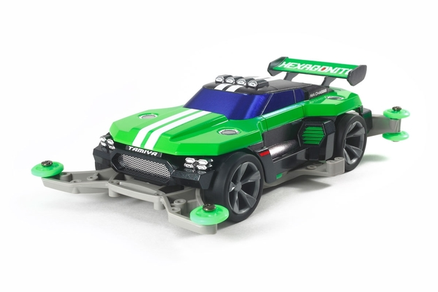 Tamiya: Mini 4WD Hexagonite (MA Chassis)