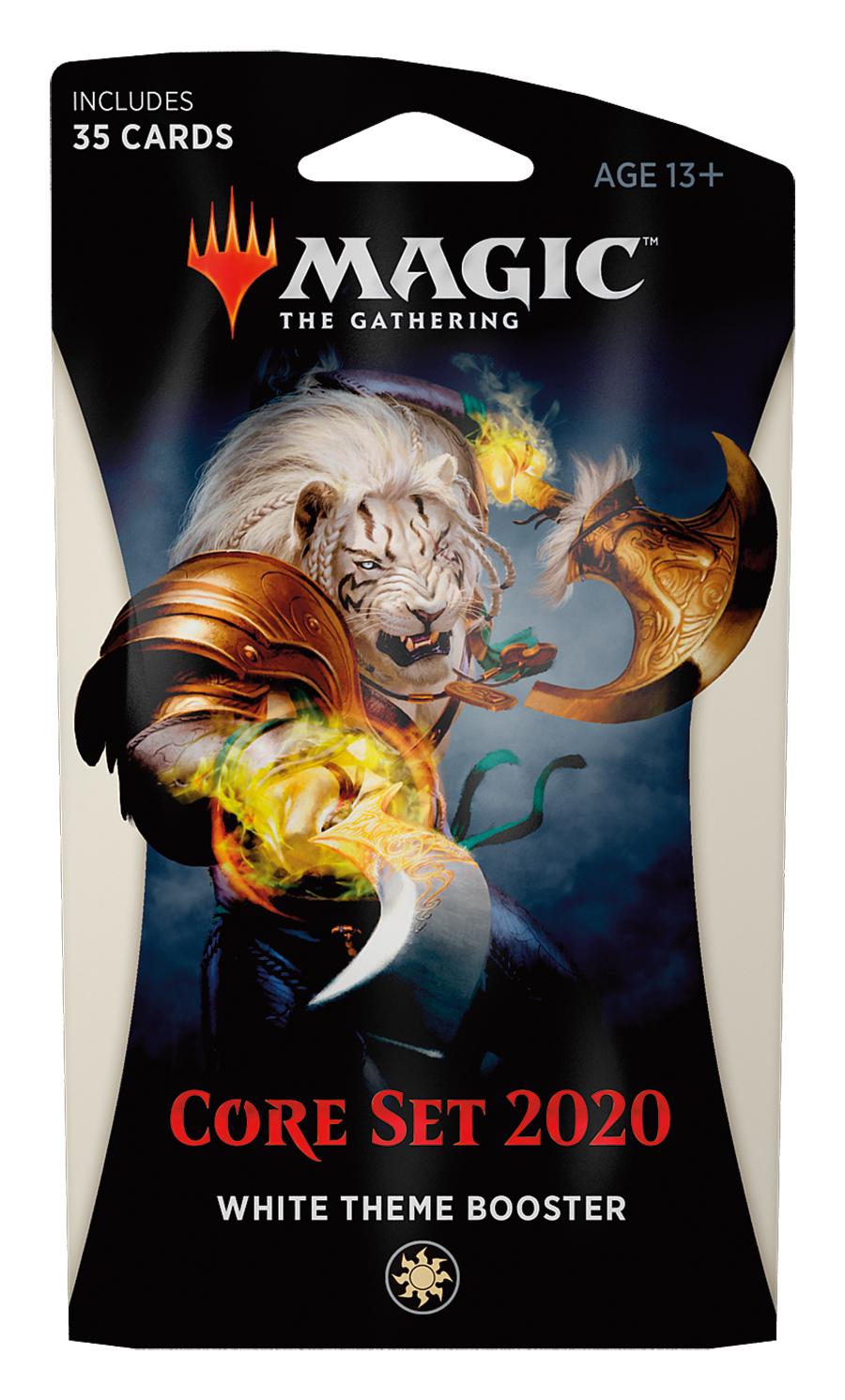 Magic The Gathering: Core Set 2020 White Theme Booster image
