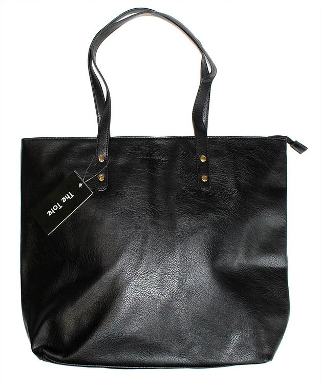 Moana Rd: Khandallah Tote Bag - Black