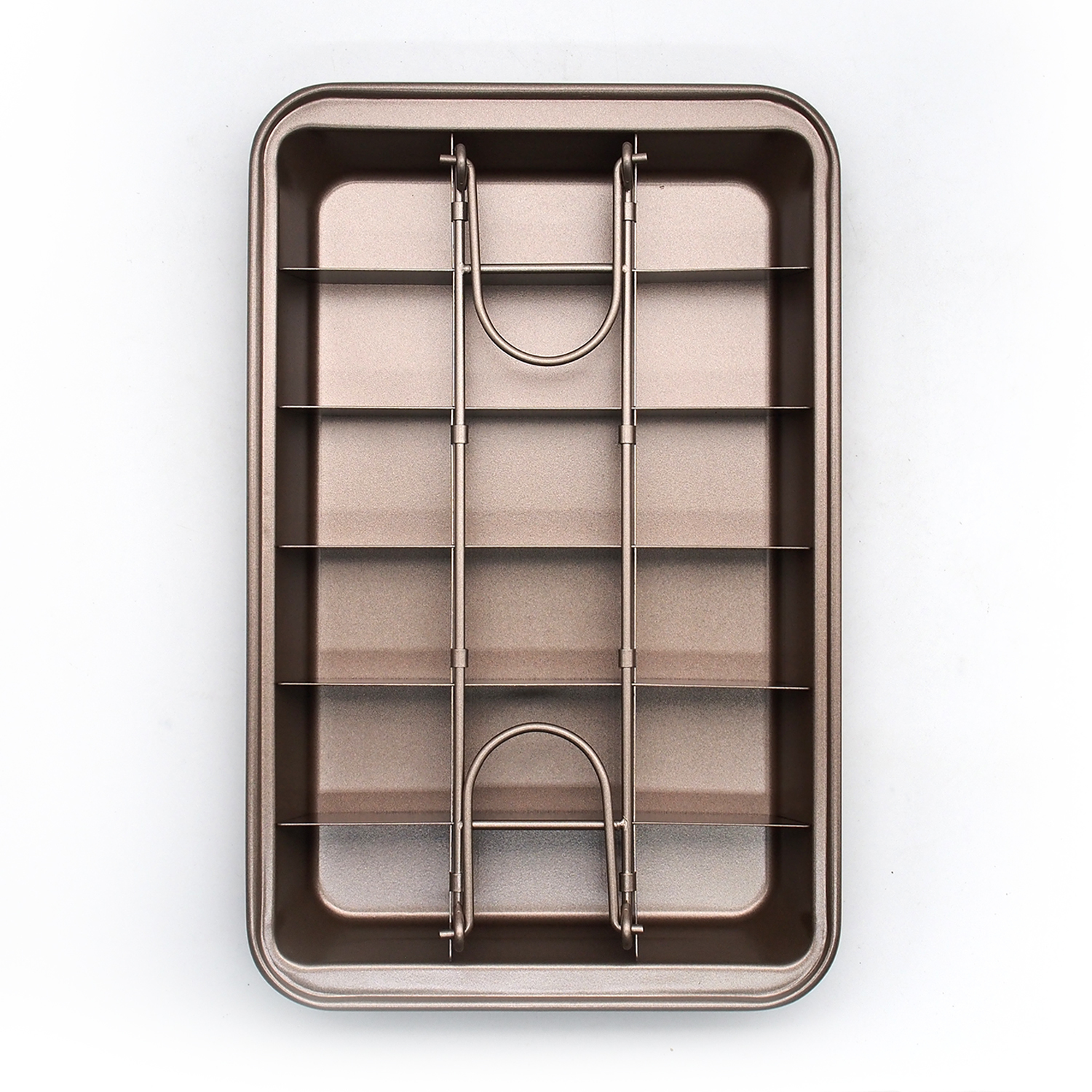 Ape Basics: Non-Stick Easy Release Mini Loaf Brownie Pan image