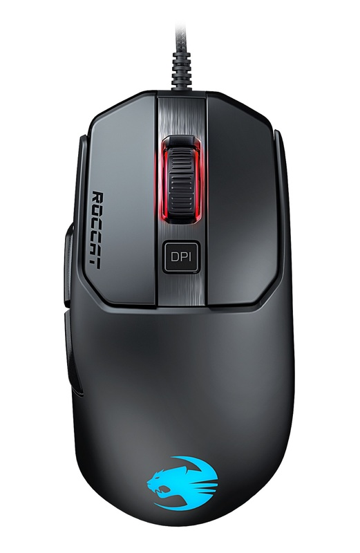 ROCCAT Kain 120 Gaming Mouse - Black for PC