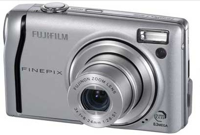 FujiFilm F40FD 8.3MP Digital Camera Silver