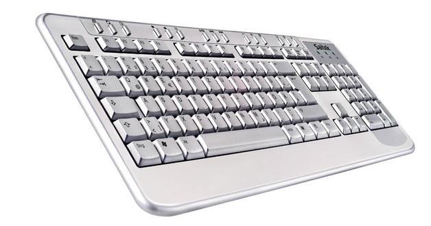 Saitek Aluminium Keyboard