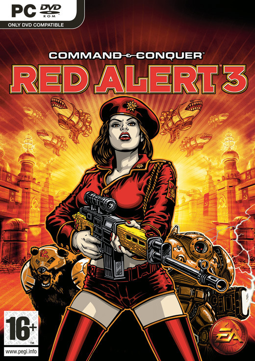 Command & Conquer: Red Alert 3 (Classics) for PC Games