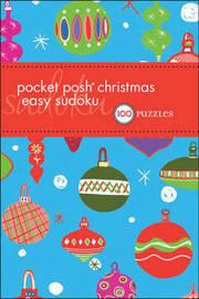 Pocket Posh Christmas Easy Sudoku by The Puzzle Society image