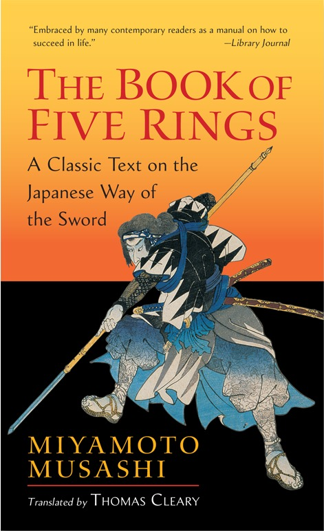 The Book of Five Rings by Miyamoto Musashi image