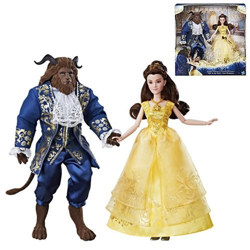 Beauty and the Beast Dolls (2-Pack) image