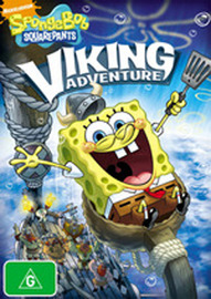 SpongeBob Squarepants: Viking Adventure on DVD