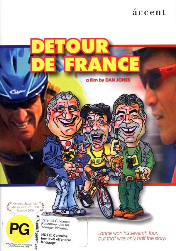 Detour De France on DVD image