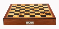 """Dal Rossi Walnut Finish Chess Box 20"""""""
