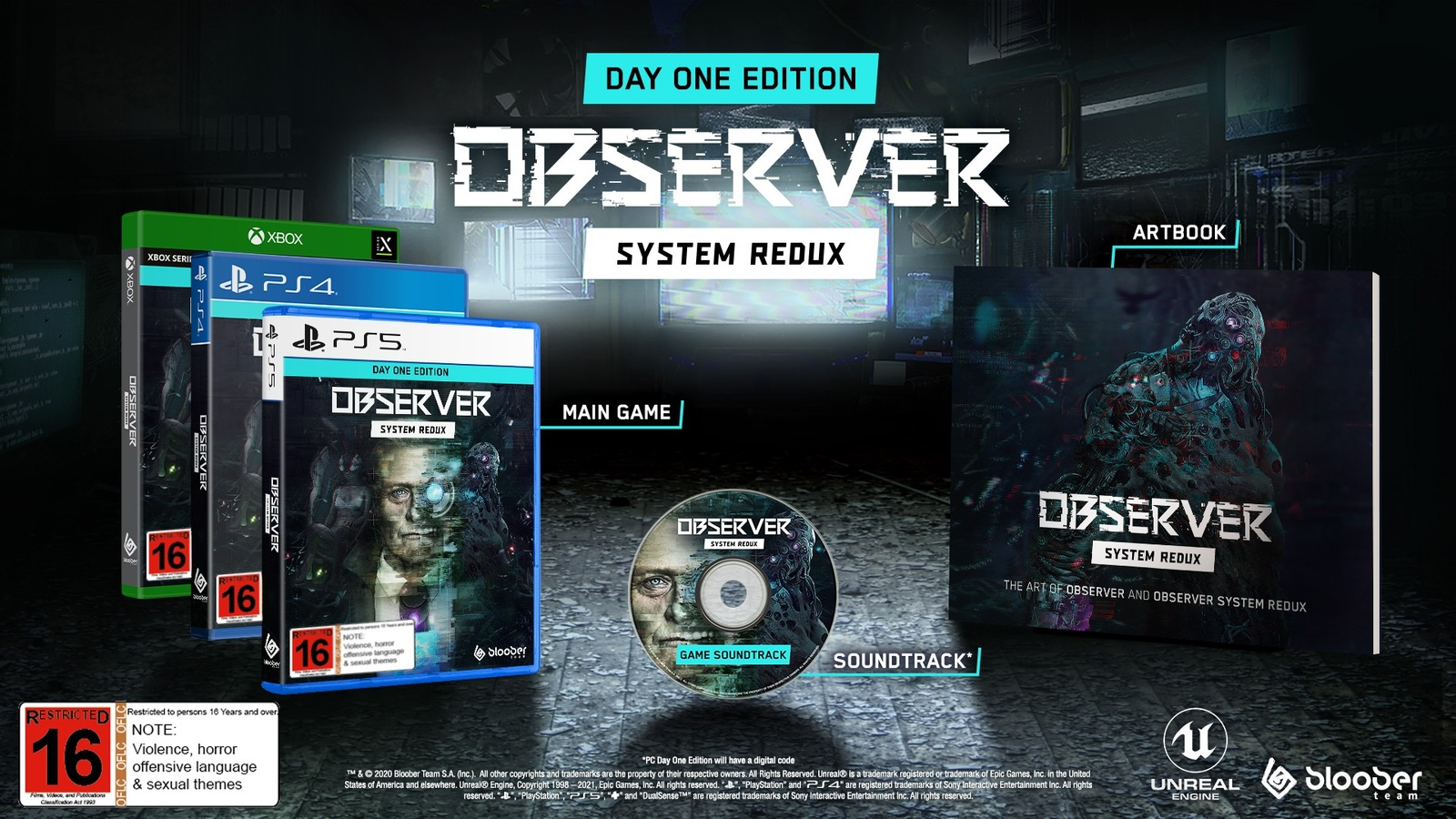 Observer: System Redux Day One Edition screenshot