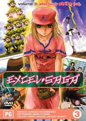 Excel Saga - V3 on DVD