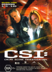 CSI - Season 3: Episodes 3.13-3.23 (3 Disc Set) on DVD