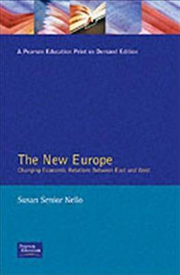The New Europe by Susan Senior Nello image