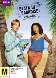 Death in Paradise - Series Three on DVD