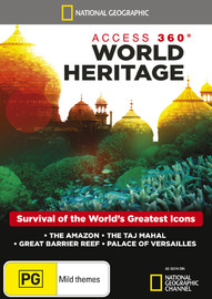 National Geographic: Access 360° World Heritage on DVD