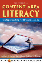 Content Area Literacy: Strategic Thinking for Strategic Learning by Anthony V. Manzo image