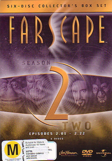 Farscape Season 2 (6 Discs) on DVD image