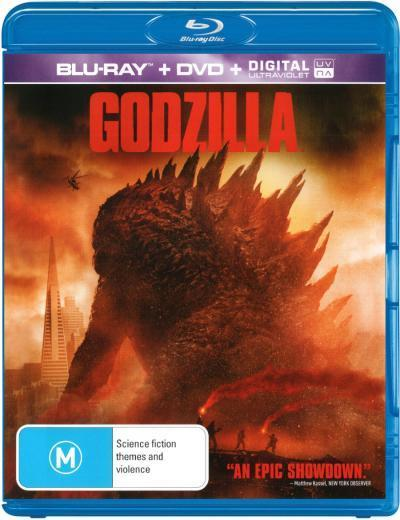 Godzilla on DVD, Blu-ray