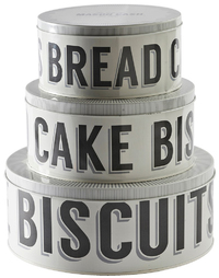 Mason Cash Baker Street - Set of 3 Cake Tins